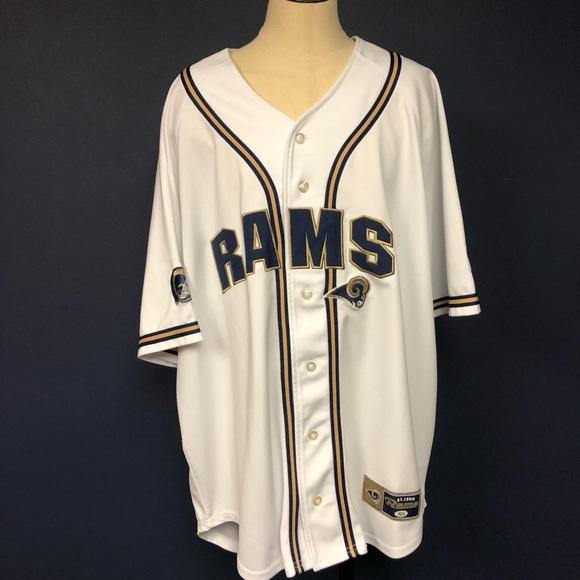 Los Angeles Rams Baseball Jersey
